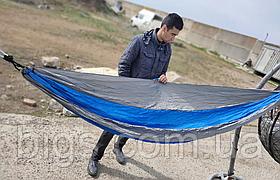 Гамак из парашютной ткани