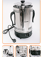 Электрошашлычница Помощница-6 ( на 6 шампуров), с таймером и запасной колбой