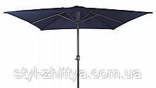 Міцний Квадратний садовий зонт  2,5 м