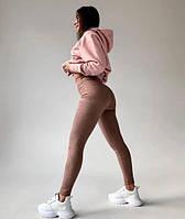 Лосины женские на каждый день стильные мокрый замш матовые , Замшевые штаны черный, беж, мокко