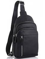 Мужской кожаный рюкзак на одно плечо TIDING BAG A25F-102-1A