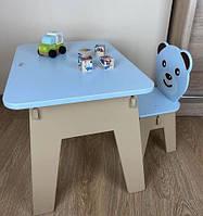 Подарок для ребенка - детский столик.Стол с ящиком и стульчик. Для учебы,рисования,игры