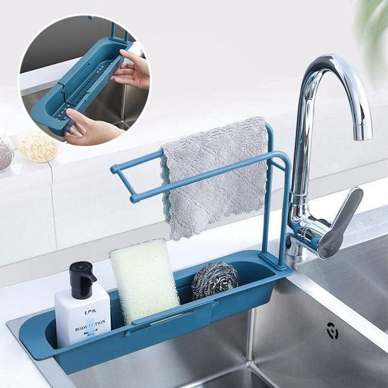 ОПТ Органайзер для кухонної раковини Sink Holder, тримач для губки і миючого засобу з вішалкою