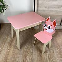 Супер подарок для ребенка. Стол с ящиком и стульчик.
