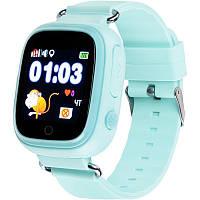 Дитячі розумні годинник (з GPS) Gelius Pro GP-PK003 (Waterproof IP65) Blue