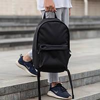 Стильный мужской рюкзак городской с отделом под ноутбук Street черный качественный
