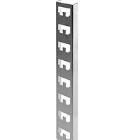 400мм. К1150 Стойка. Профиль быстрой фиксации для стеллажей, цинк, сталь 2,0 [CLW10-GEM-SK-400]