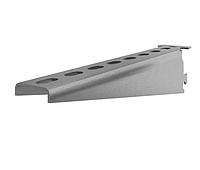 160мм. Полка | Консоль для стелажей, быстрая фиксация, окрашен, сталь 2,5 К1160 У3 (з) [CLW10-GEM-PK-150-U3]
