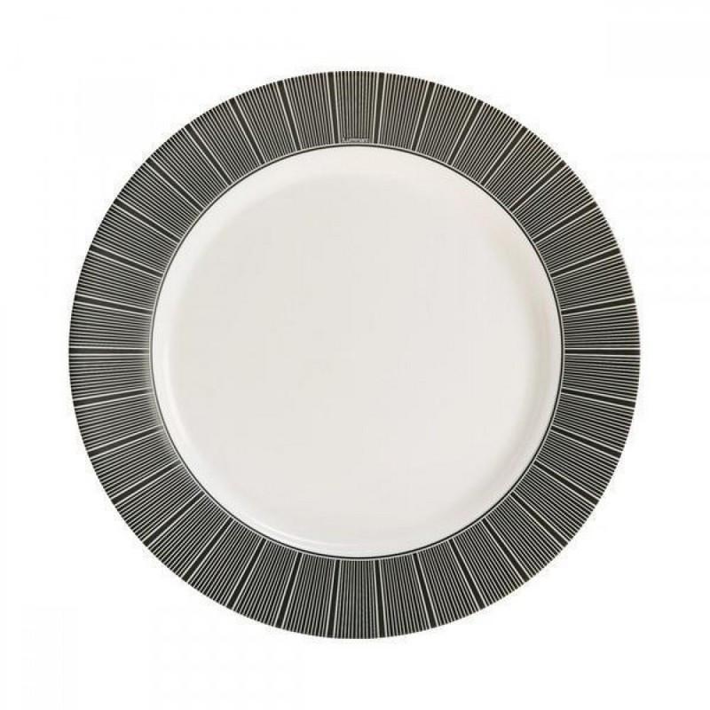 Тарілка LUMINARC ASTRE BLACK /26 см /обід.