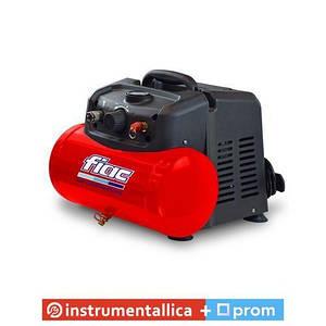 Безмасляный компрессор поршневой прямоприводный Cuby 6/1100 ресивер 6 л пр-сть 160 л/мин 1129981039 Fiac