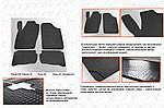 Seat Cordoba 2000-2009 рр. Гумові килимки (4 шт, Stingray)