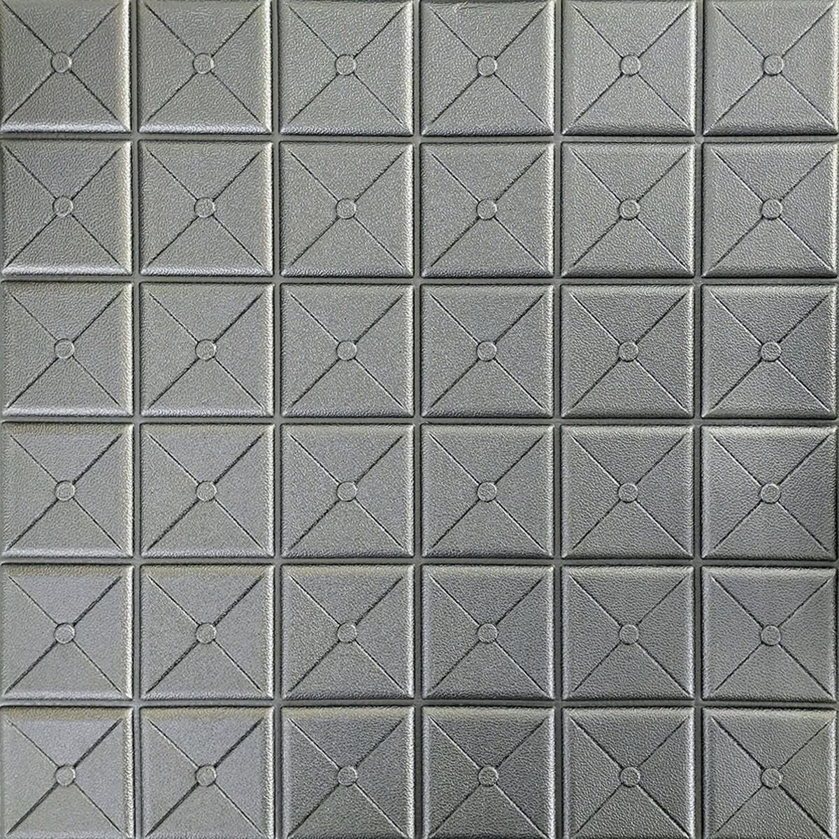 Самоклеюча декоративна 3D панель 700х770х8 мм