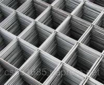 Ø 3мм, ячейка 50х50мм, лист 2000х1000мм (2,0 м2). Сварная сетка кладочная ВР1