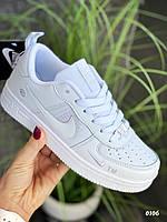 Кеды/ кроссовки Nike Air Force белого цвета, кеды/кроссовки на весну/лето/осень
