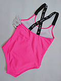 Купальник для підлітків FUBA 2048 Кет рожевий(В НАЯВНОСТІ ТІЛЬКИ 34 36 38 40 42 розміри), фото 2