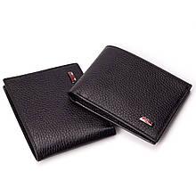 Чоловічий гаманець шкіряний чорний BUTUN 134-004-001