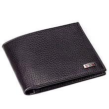 Чоловічий гаманець шкіряний чорний BUTUN 134-004-030