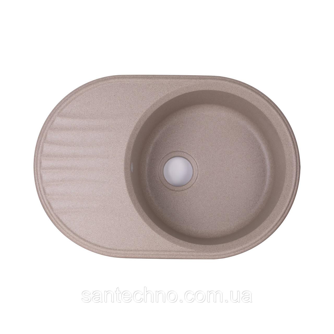 Кухонна мийка Qtap CS 7451 BEI (QT7451BEI551)