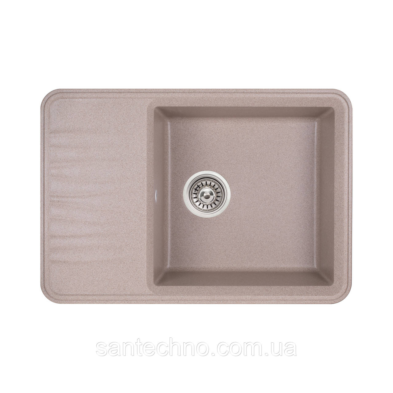 Кухонна мийка Qtap CS 7440 BEI (QT7440BEI551)