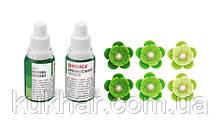 Барвник гелевий Білі-зелений 25г