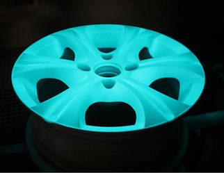 Светящийся порошок голубой в темноте и фиолетовый на свету Люминофор Просто и Легко 500г SKL12-241409