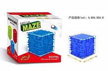 Головоломка 3D-лабиринт куб, в кор. 6,8*6,8*6,8см /288-2/