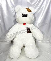 """Плюшевый медведь """"Smile"""" белый 160 см"""