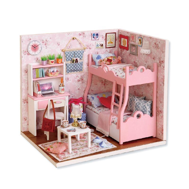 Ляльковий будинок конструктор DIY Cute Room 3012-A Mood of Love 3D Румбокс