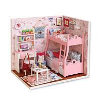 Кукольный дом конструктор DIY Cute Room 3012-A Mood of Love 3D Румбокс, фото 1