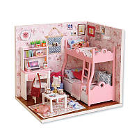 Ляльковий будинок конструктор DIY Cute Room 3012-A Mood of Love 3D Румбокс, фото 1
