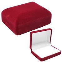 Коробочка для обручальных колец ''Классика'' бордовый