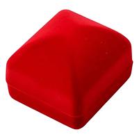 Коробка для бижутерии чалма красный