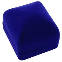 Коробка для бижутерии чалма синий