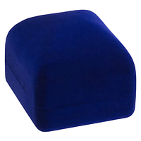 Коробка для бижутерии классика 3 синий