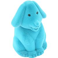 Шкатулка детская собака голубой