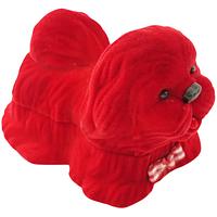 Шкатулка детская собачка красный