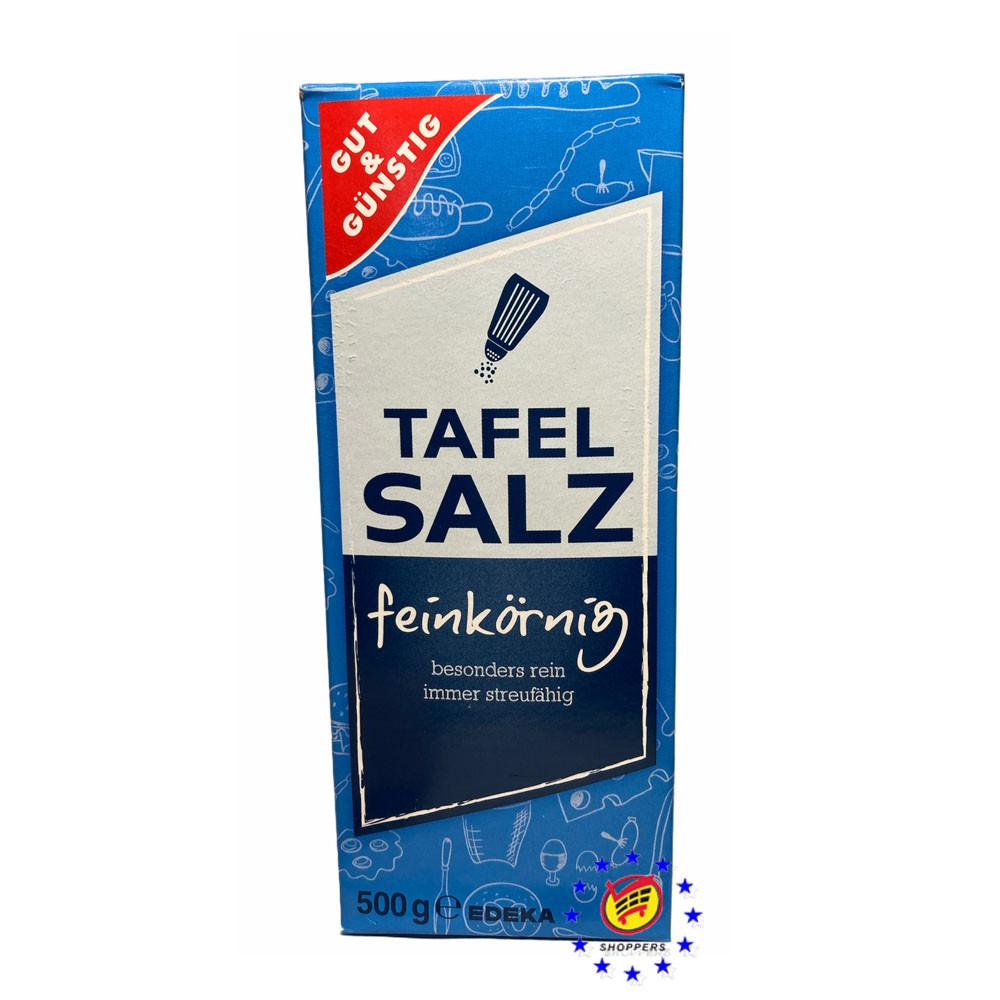 Соль Gut & Günstig Tafelsalz 500г