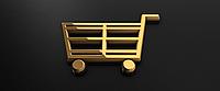 Ценники на резинке Боксшоп 2,5,х1,5 см 1000 штук золото