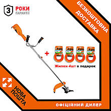 Электрокоса ТехАС ТА-03-320 + В подарок 4 жилки!