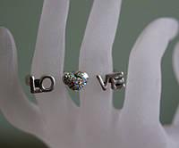 Модные двойные кольца оптом  .54