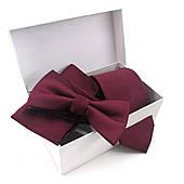 Подарунковий чоловічій набір: краватка, хустка, метелик у коробці