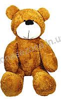 Большой плюшевый медведь коричневый 200 см