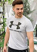 Мужская футболка Under Armour серая