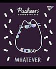 """Зошит для записів А5/12 кос. YES """"Pusheen fabulous"""" софт-тач+фольга срібло голограф., 10 шт/уп., фото 4"""