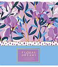 """Зошит для записів А5/48 лін. YES """"Floral dreams"""" фольга золото+софт-тач+УФ-виб., 5 шт/уп., фото 3"""