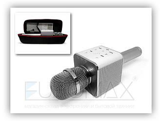 Микрофон караоке в чехле (цвета) Q7 50шт 9453