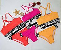 Стильний підлітковий купальник для дівчинки . Хіт Літо 2021, на зріст 128-134, 140-146, 152-158  см.