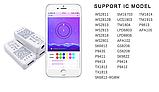Контроллер адресной светодиодной RGB WS2812 ленты Bluetooth SP110E, фото 3