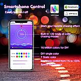 Контроллер адресной светодиодной RGB WS2812 ленты Bluetooth SP110E, фото 5