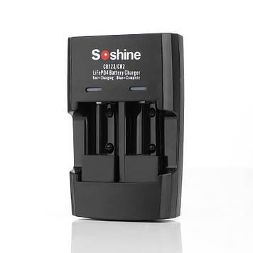Зарядний пристрій Soshine S5-FE USB